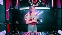 等黄昏 DJ阿卓版 DJ美女打碟现场视频