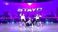 新女团STAYC出道音乐银行新舞台,plmm颜值实力双双在线